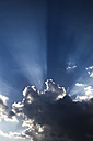Germany, Clouds and sunbeams - JTF000567