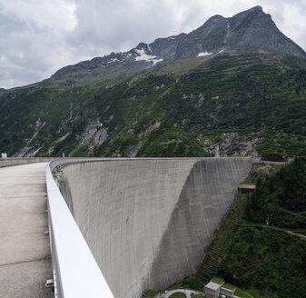 Austria, Tirol, Zillertal, Zillergrund dam wall - MKF000059