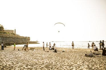 Israel, Tel Aviv-Jaffa, Beach scene - GC000020