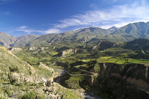 South America, Peru, View to Colca Canyon - KRPF000657
