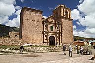 South America, Peru, Puno, Church Santiago de Pupuja - KRPF000682