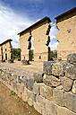South America, Raqch'i, View of the Temple of Wiracocha - KRPF000687