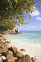Seychelles, La Digue Island, Anse Source D'Argent, Beach - KRPF000729