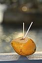 Coconut with straws - KRPF000777