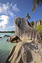 Seychelles, La Digue Island, Beach Anse Source D'Argent - KRP000728
