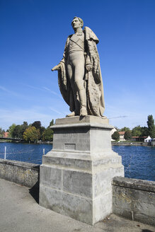 Germany, Baden-Wurttenberg, Statue of Leopold Grand Duke of Baden - KRPF000823