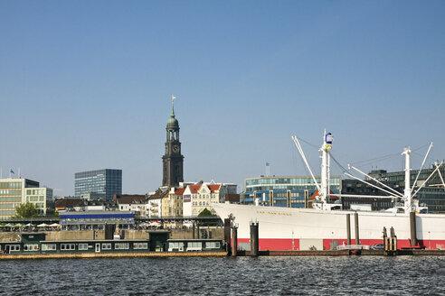 Germany, Hamburg, Port of Hamburg, St. Pauli Piers - KRP000937