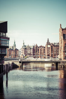 Germany, Hamburg, Old Warehouse District - KRPF000979
