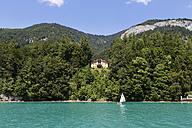 Austria, Salzkammergut, Salzburg State, Lake Wolfgangsee, Sankt Gilgen, Villa - SIEF005769