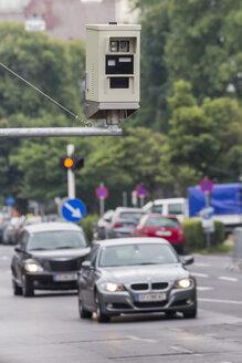 Austria, Upper Austria, Linz, Red light camera - EJW000491