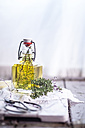 Thyme oil, thyme twigs in olive oil - SBDF001155