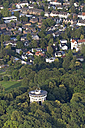 Germany, Aachen, aerial view of the city with Belvedere Water Tower - HLF000642