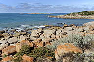 Australia, South Australia, Port Elliot, rocky coast - MIZ000557