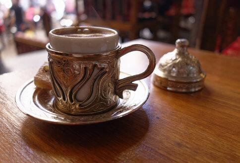 Turkey, Mardin, Turkish coffee - SIEF005812