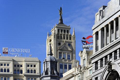 Spain, Madrid, neoclassical office tower La Union y el Fenix Espanol - MIZ000587