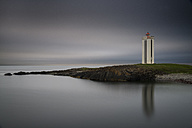 Iceland, North of Iceland, Lighthouse of Kalfshamarsvik - MKFF000081
