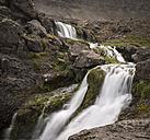 Iceland, Westfjords, Dynjandi Waterfall - MKFF000103