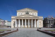 Russia, Central Russia, Moscow, Theatre Square, Bolshoi Theatre - FO006725