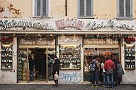 Italy, Rome, Campo de' Fiori, Salumeria, Butcher's shop - GW003137