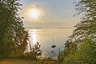 Germany, Bavaria, morning mood at Lake Simssee - SIEF005835