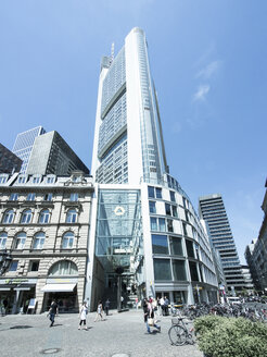 Germany, Hesse, Frankfurt, Commerzbank Tower - AMF002700