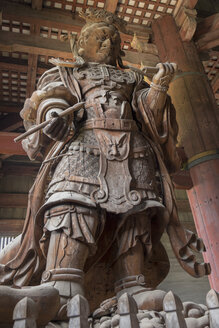 Japan, Nara, Todai-ji Temple, Temple guardian - HL000712