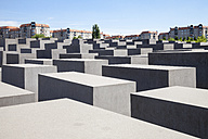 Germany, Berlin, Holocaust Memorial, Concrete stelaes - WIF000949
