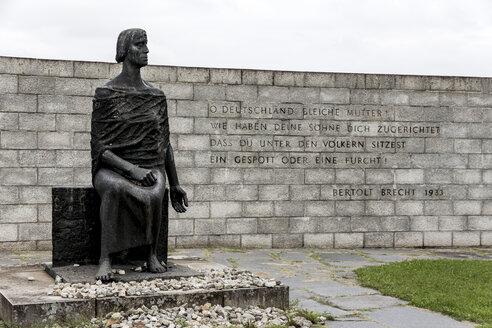 Austria, Mauthausen concentration camp, GDR memorial - EJW000571