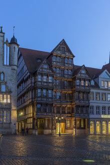 Germany, Lowe Saxony, Hildesheim, Facade, Wedekind house - PVCF000104