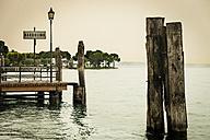 Italy, Bardolino, Lake Garda, mooring area - APF000017