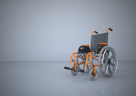 Wheelchair, 3d rendering - ALF000196