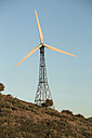 Spain, Andalusia, Tarifa, Wind turbine - KBF000151
