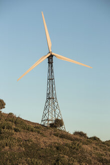 Spain, Andalusia, Tarifa, Wind turbine - KBF000151