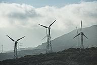 Spain, Andalusia, Tarifa, Wind farm - KBF000158