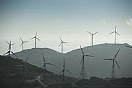 Spain, Andalusia, Tarifa, Wind farm - KBF000162