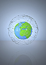 Illustration, Globe, Network - ALF000197