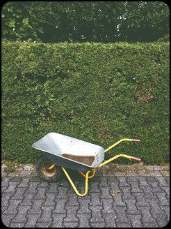 Wheelbarrow in garden - SHIF000062