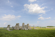 United Kingdom, England, Wiltshire, View of Stonehenge - ZCF000144