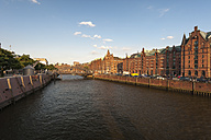 Germany, Hamburg, Old Warehouse District, View of the Zollkanal - RJF000262