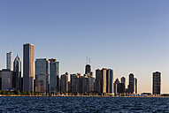 USA, Illinois, Chicago, Skyline and Lake Michigan - FOF007219