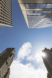USA, Illinois, Chicago, John Hancock Center and skyscrapers - FOF007166