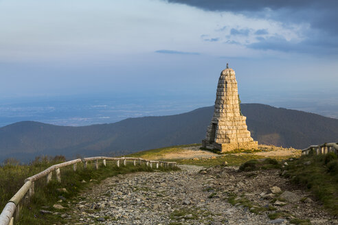 France, Vosges, Memorial for the Blue Devils at Grand Ballon mountain - STSF000467