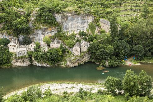 France, Longuedoc-Roussillon, Gorges du Tarn, Auberge de la Cascade - STSF000473