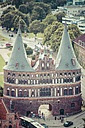 Germany, Schleswig-Holstein, Luebeck, Holsten Gate - KRPF001040