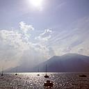 Italy, Veneto, View of Lago di Garda - LVF001845