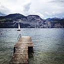 Italy, Veneto, View of Lago di Garda - LVF001848