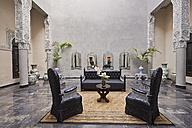 Morocco, Fes, Hotel Riad Fes, lounge - KMF001420