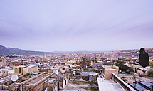 Morocco, Fes, view over medina from Hotel Riad Fes - KMF001424