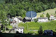 Switzerland, Ticino, Mogno, view to church of San Giovanni Battista - WE000207
