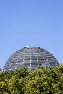 Germany, Berlin, Berlin-Tiergarten, Reichstag building, Cupola - WI000989